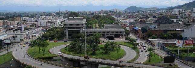 Pereira skyline, Columbia