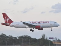 Virgin America aircraft