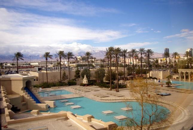 Pools at Luxor, Las Vegas