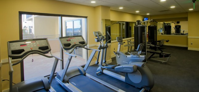 Origin Beach Resort fitness center
