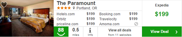 The Paramount Hotel deal details