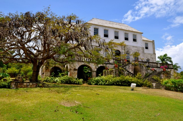 Rose Hall Great House, restored plantation home in Jamaica