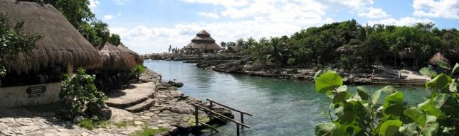 Xcaret laguna view, cancun