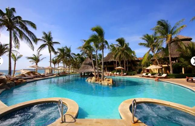 Pool view of Bel Air Resort