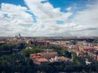 Madrid view, Spain