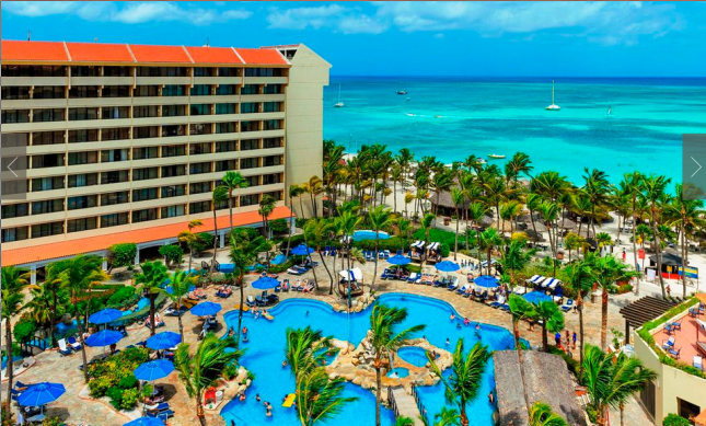 Pool view - Occidental Grand Aruba