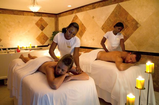 Radiant Spa couples massage