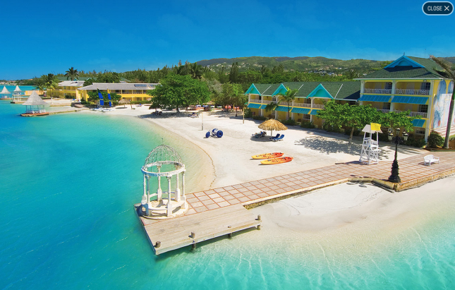 Sandals Royal Caribbean - beach view
