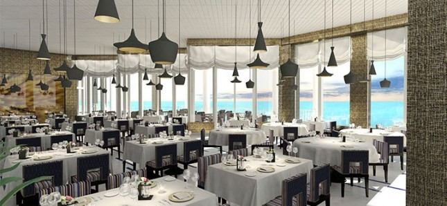Oceana restaurant at Sugar Bay Resort