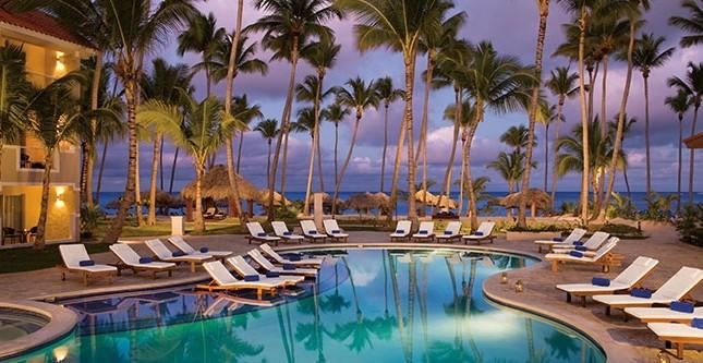 Dreams Palm Beach - pool view