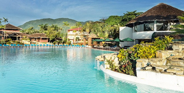 Pool view of Be Live resort