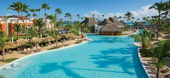 One of the pools at Breathless Punta Cana