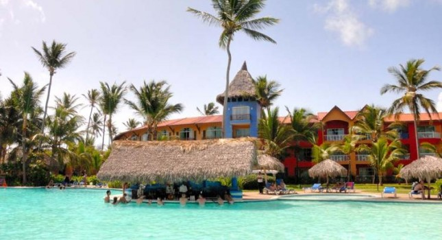 Pool view - Caribe Club Princess