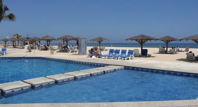 Swimming pool at Posada Real Los Cabos