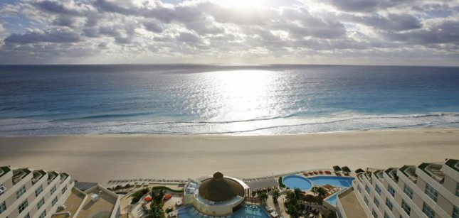 Ocean view from ME Cancun Complete
