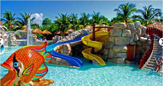 Aqua Park at Sandos Caracol