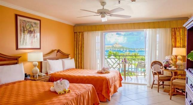 Room at Bay Gardens Beach Resort and Spa