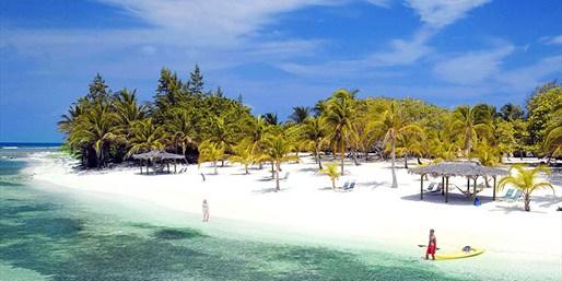 The beach at Brac Ref Beach Resort