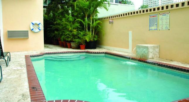 Pool at the Coral Princess Hotel