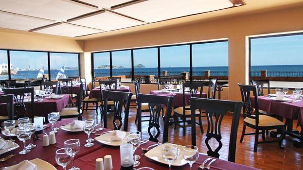 Restaurant at Hotel Playa Mazatlan
