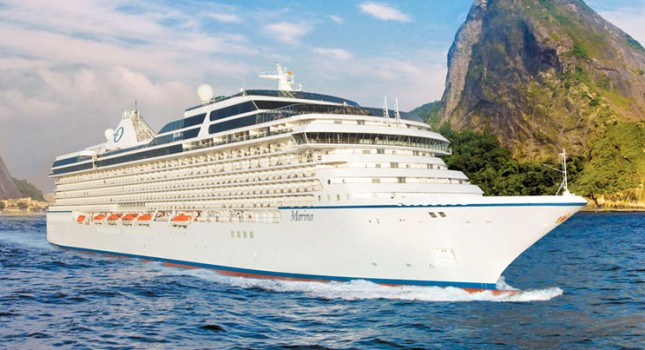 Marina cruise ship by Oceania Cruises