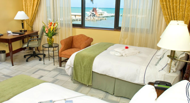 Room at Radisson Fort George Hotel