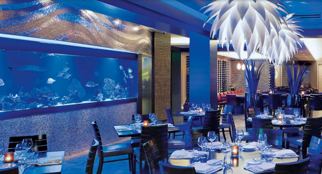 The Atlantic Grille at he Seagate Hotel and Spa