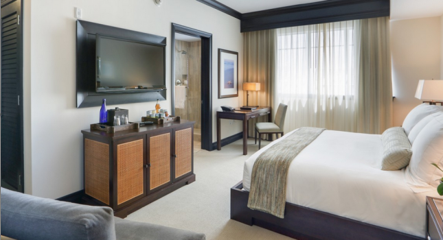 Room at The Seagate Hotel and Spa