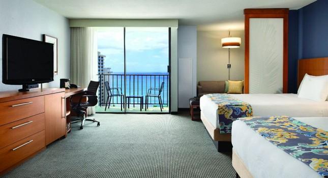 Room at Hyatt Place Waikiki Beach