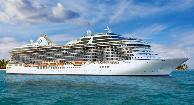 Riviera cruise ship by Oceania Cruises