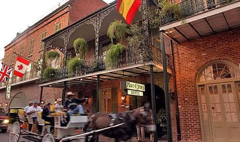 Place D'Armes hotel in New Orleans