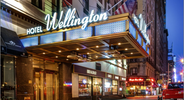 Wellington Hotel in New York City