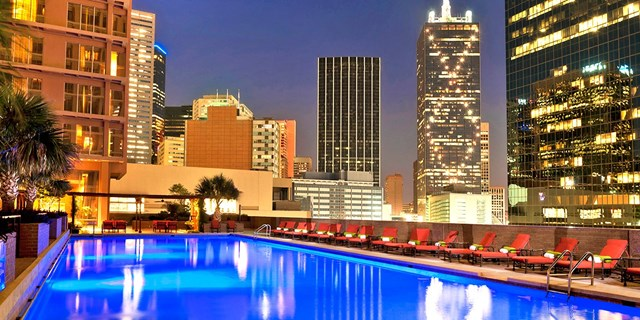 The Fairmont Dallas hote