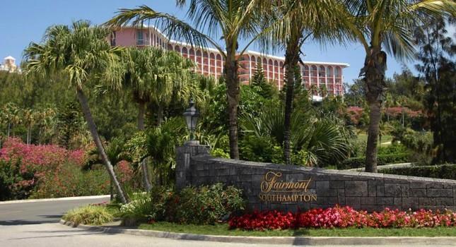 The Fairmont Southampton hotel