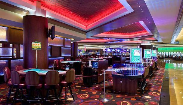 Casino view at Harrah's Resort