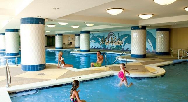 Indoor pool at Mar Vista Grande