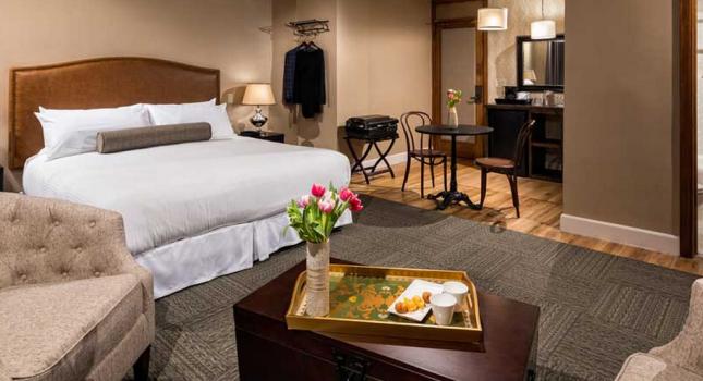 Suite at Hotel Normandie