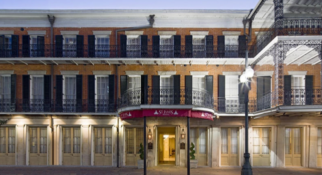 St James Hotel in New Orleans