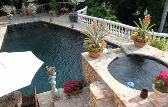 Pool at The Inn at Villa Bambou