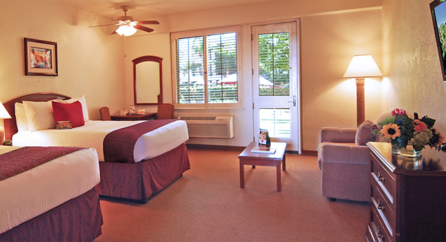 Room at Palm Springs Resort and Spa