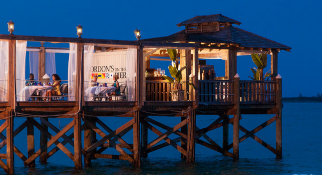 Pier restaurant at Sandals Royal Bahamian