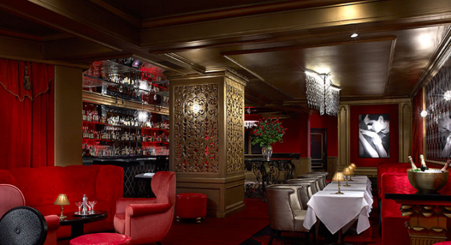 Starlight Room restaurant at Sir Francis Drake Hotel