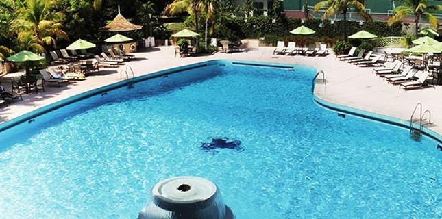 Pool at The Jamaica Pegasus Hotel