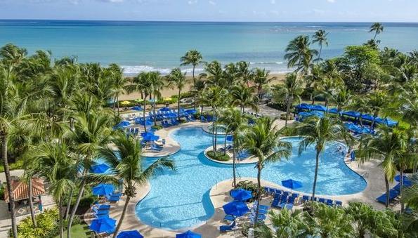 Pool at Wyndham Grand Rio Mar Beach Resort