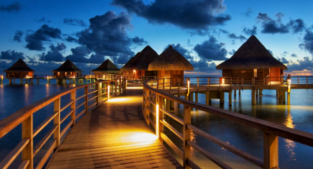 Bora Bora and Rangiroa vacation
