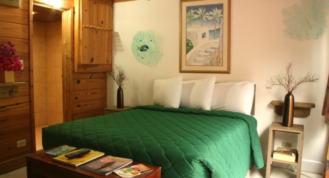 Guest room at Coco Plum Resort Bahamas
