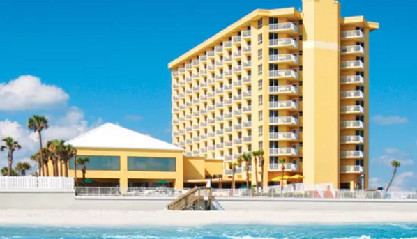 Plaza Ocean Club hotel in Daytona Beach