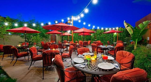 El Mirasol Restaurant at Los Arboles Hotel