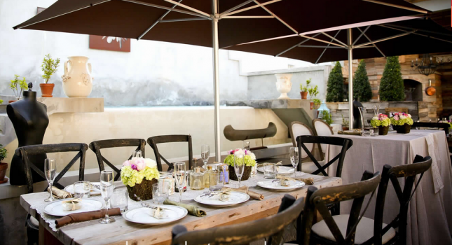 Rooftop terrace at Olive Boutique Hotel