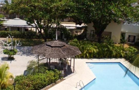Pool view at Grand Port Royal Hotel